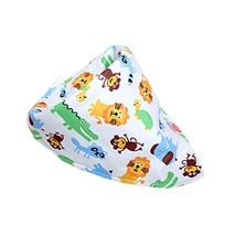 Zoo Baby Burp Cloths Infant Toddle Bibs Neat Solution Double Layers Set of 5