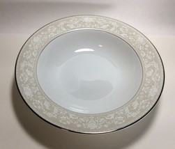 "Mikasa Bavarian Platinum Round Vegetable Serving Bowl 10 1/4"" L3215 New - $12.85"