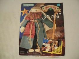"Daisy Kingdom 1997 ""Joseph"" Doll Sewing Kit #0130-05000 New old stock 17"" size - $18.70"