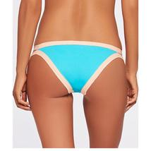 NWT L SPACE XS swimsuit bikini 2PC turquoise strappy Haley top Charlie bottom image 3