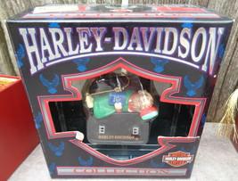 Harley-Davidson North Pole Christmas Ornament Elf in Saddle Bag Cavanagh... - $16.50
