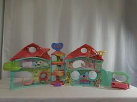 LPS Littlest Pet Shop Hotel House Biggest Little House Play Set + Pets + access  - $57.44