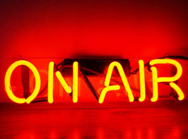 "New On Air Bar Wall Decor Acrylic Back Neon Light Sign 14"" Fast Ship - $60.00"