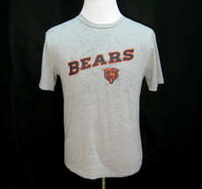 Chicago Bears Men's (Size Medium) Gray Short Sleeve Graphic T-Shirt Nfl Football - $9.95
