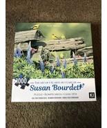 """Susan Bourdet Rail Fence Rendezvous Jigsaw Puzzle 1000 Pieces 20"""" X 27"""" NEW - $20.96"""