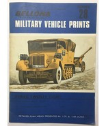 Bellona Military Vehicle Prints Series #28 Plans Presented In 1:76 & 1:4... - $14.69
