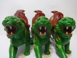 MOTU Battle Cat Saddle Masters of the Universe vintage He-Man Lot of 3 - $84.15