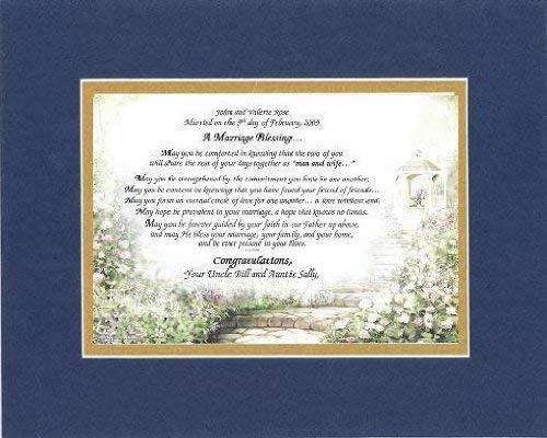 Personalized Touching and Heartfelt Poem for Wedding - A Marriage Blessing Poem  - $22.72