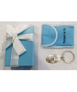 Authentic Tiffany & Co Sterling Silver The Globe World Key Chain with KM... - $118.75