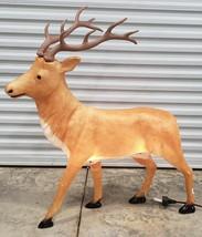 "Vintage Santas Best 43"" Lighted Reindeer Blow mold NOS Christmas Holiday... - $198.00"