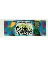 RARE Fruitopia Beachside Blast Discontinued Soda, Soft Drink Tag Sign Label - $12.85