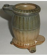 Vintage 1960s/70s Stoneware UCTCI - JAPAN Figural Pot Belly Stove PLANTER - $22.76