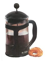 Mr. Coffee Brivio 28 oz Coffee Press ~ Protected Glass Carafe Protected ... - £18.78 GBP