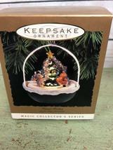 1993 Hallmark Keepsake Ornament Forest Frolics Magic Light/Motion - $17.82