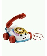 Toy Chatter Phone Baby Toddler Classic Telephone Pull Toys Sensory Activ... - $14.31