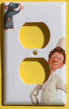 Ratatouille Light Switch Toggle Rocker Outlet duplex wall Cover Plate Home Decor image 3