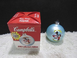 1998 Good For The Body, Christmas Ornament, Campbell's Collector's Edition - $6.88