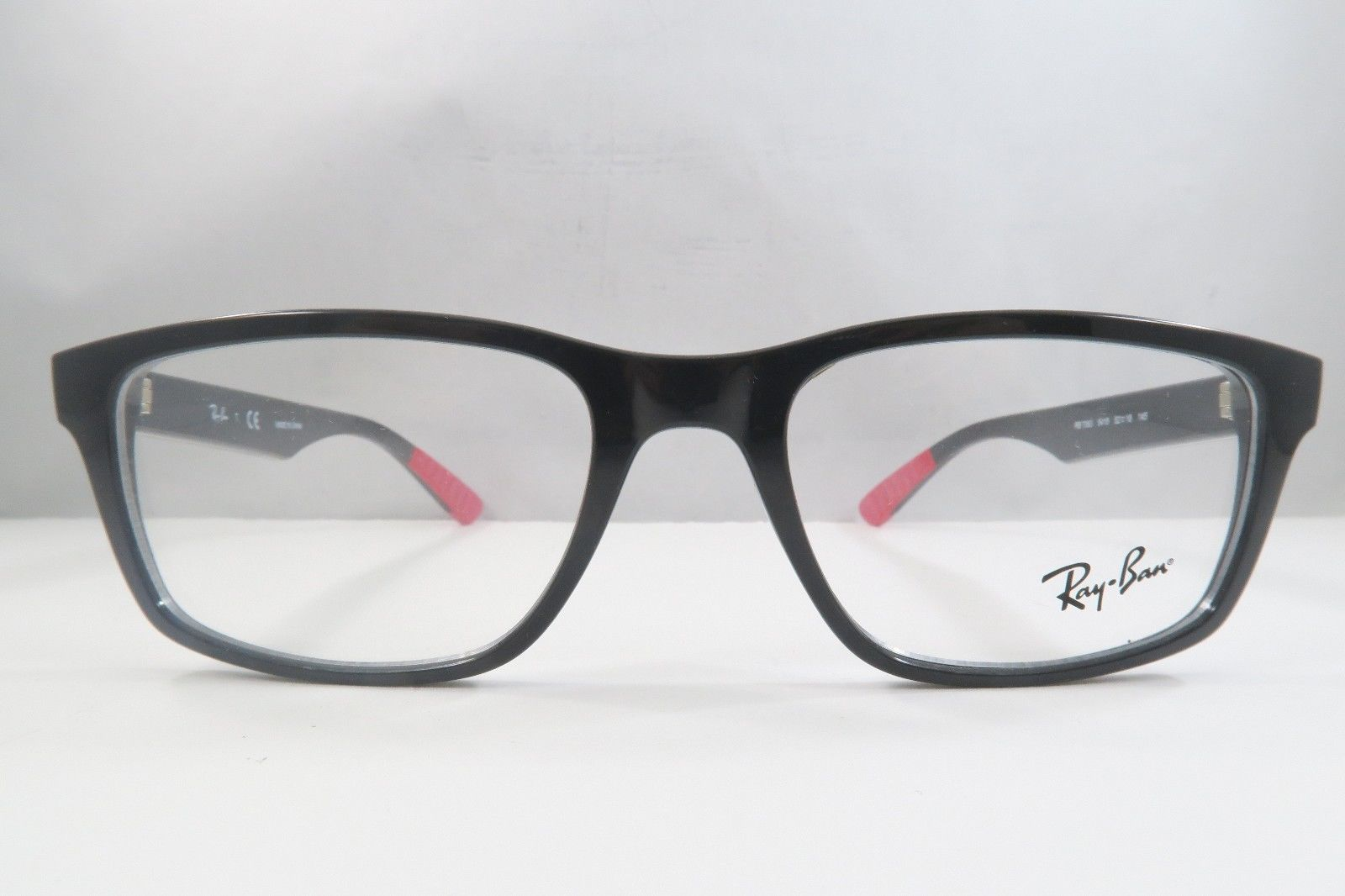 482c3bd43a1 Ray-Ban RB 7063F 5418 Shiny Black   Red New and 50 similar items. S l1600