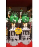 """2 new M&Ms chocolate CANDY DISPENSERS STATUE OF LIBERTY 11"""" Collector's ... - $89.09"""