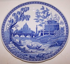 "Gorgeous Spode England Blue Room Collection Rome 10"" Plate - $11.87"