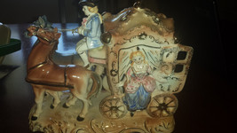 Beautiful Cinderella Carriage and the Horseman night light.  No damage t... - $39.99