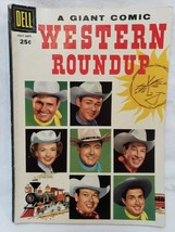 Western Roundup Comic Book #15 July 1956 Dell Giant Edition Roy Rogers R... - $34.63