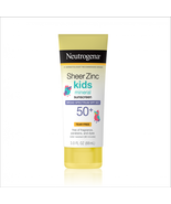 Neutrogena Sheer Zinc Kids Mineral Sunscreen Lotion, SPF 50+, 3 Fl. Oz - $28.50