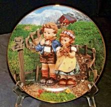 "M.J. Hummel ""Colonial CrossRoads"" Collector's Plate AA20-CP2304AA Little Compani"