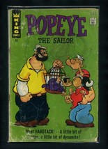 Popeye #86 FR 1967 King Features Comic Book - $1.26
