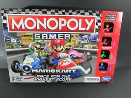 RARE!! Monopoly Gamer Mario Kart Nintendo Mariokart Kong Peach Bowser - $19.79