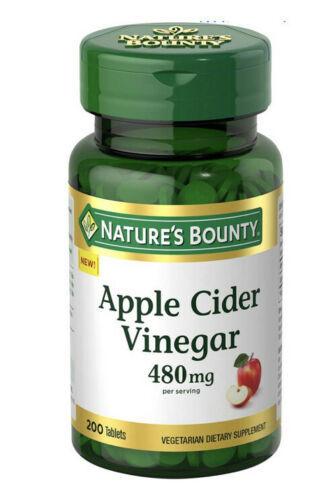 Nature's Bounty Apple Cider Vinegar 200 pk.health Heart Boost Immune - $7.14