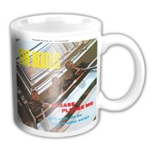 4oz White The Beatles Please Please Me Mini Mug - $13.39