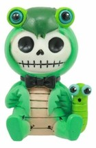 Ebros Furrybones Manny The Mantis Hooded Skeleton Monster Collectible Sc... - $14.99