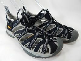 Keen Whisper Taglia 6.5 M (B) Eu 37 Donna Sport Sandali Nero Grigio 1008448 - $45.97