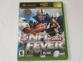 NFL Fever 2003 Microsoft XBOX 2002 Live Online Habilitado Videojuego E-E... - $16.02