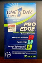 One-A-Day Men's Pro Edge Complete Multivitamin 50 Tablets EXP 6/20 - $12.86