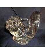 Vintage Avon Glass Squirrel Or Chipmunk Animal Candle Holder  Votive - $12.99
