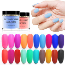 Matte Color Manicure Powder Nail Dipping Powder Nail Art Decorations  12 image 3