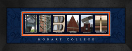 Hobart College Officially Licensed Framed Campus Letter Art - $39.95