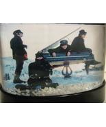 THE BEATLES HELP SNOW GLOBE JOHN LENNON PAUL McCARTNEY GEORGE HARRISON R... - $24.99