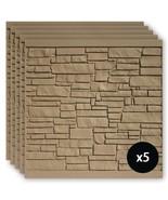 SimTek Composite Fence Panels 6 ft. x 6 ft. UV Protected Hardware Brown - $902.12