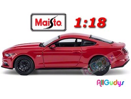 Maisto 1:18 2015 Ford Mustang GT Red Die-Cast Model Car - $30.68