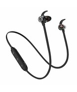 Bluetooth Headphones, Bluetooth 5.0 Wireless Earbuds Deep Bass in-Ear - $22.89