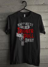 Happiness Is A Trigger 2nd Amendment Tactical Men's T-Shirt - Custom (701) - $19.12+