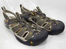 Keen Newport H2 Sz US 11.5 M (D) EU 45 Men's Sport Sandals Shoes Raven 1008399