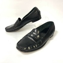 Cole Haan Men's Resort Black Pinched Penny Loafer Dress Slip 10.5 (sh-321) - $29.56