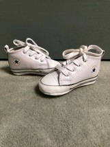 Nice Converse Chuck Taylor All Star 2 Unisex White Leather Baby Crib Shoes - $19.79