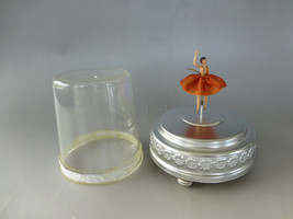 Vintage Circa 1950s Swiss Reuge Dancing Ballerina Music Box ( Watch The Video ) - $292.05