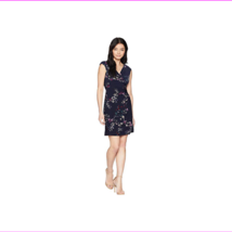 Lauren Ralph Lauren Women's Petite Adara Cap Sleeve Day Dress - $22.54