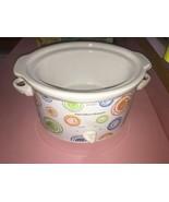 slow cooker Hamilton Beach Retro DesignModel 33138 - 3Qt NIB - $14.70